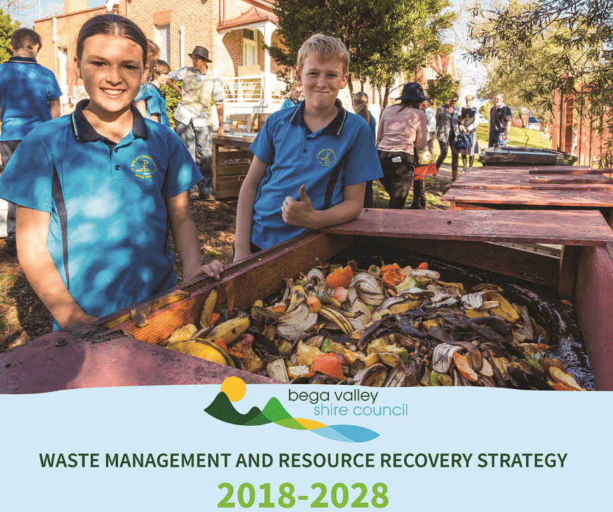 Waste Strategy report cover.