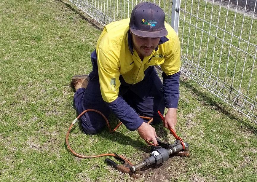 Replacing a water meter