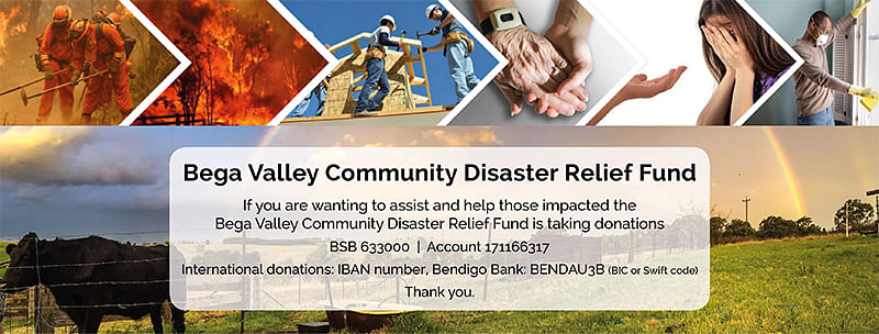 image showing disaster relief fund information.