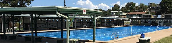 Eden Memorial pool.