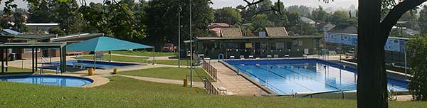 Bega War Memorial swimming pool.