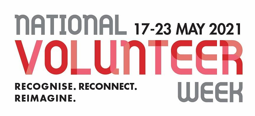 National Volunteer Week logo.