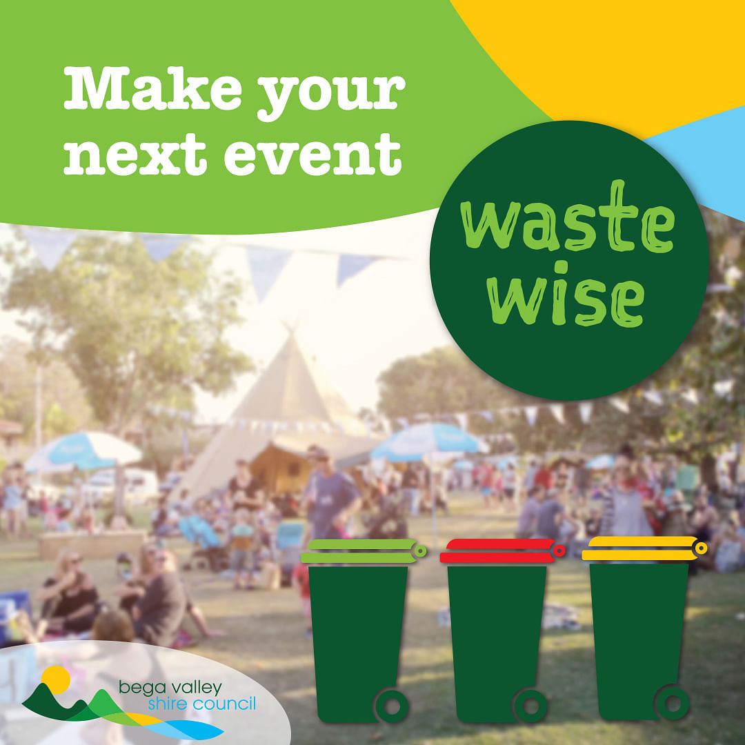 Make your next event Waste Wise.