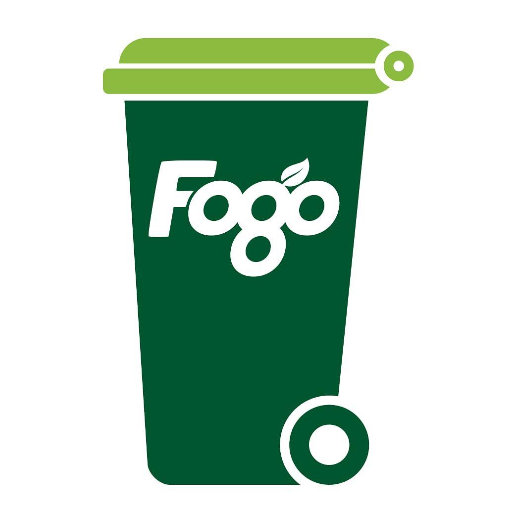 Green Fogo bin.