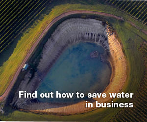 Click the image for all sorts of information and ideas to help you save water in business.